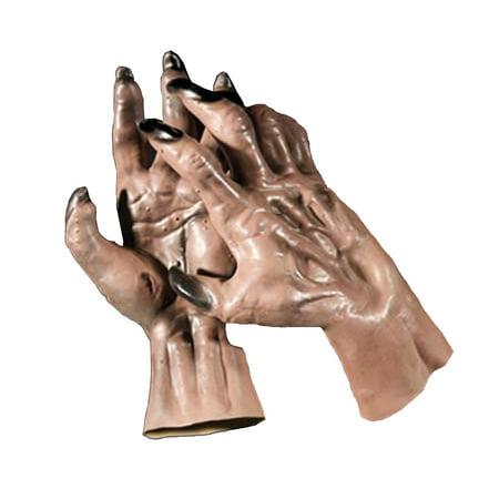 Brown Werewolf Hands Adult Halloween Accessory - Werewolf Hands