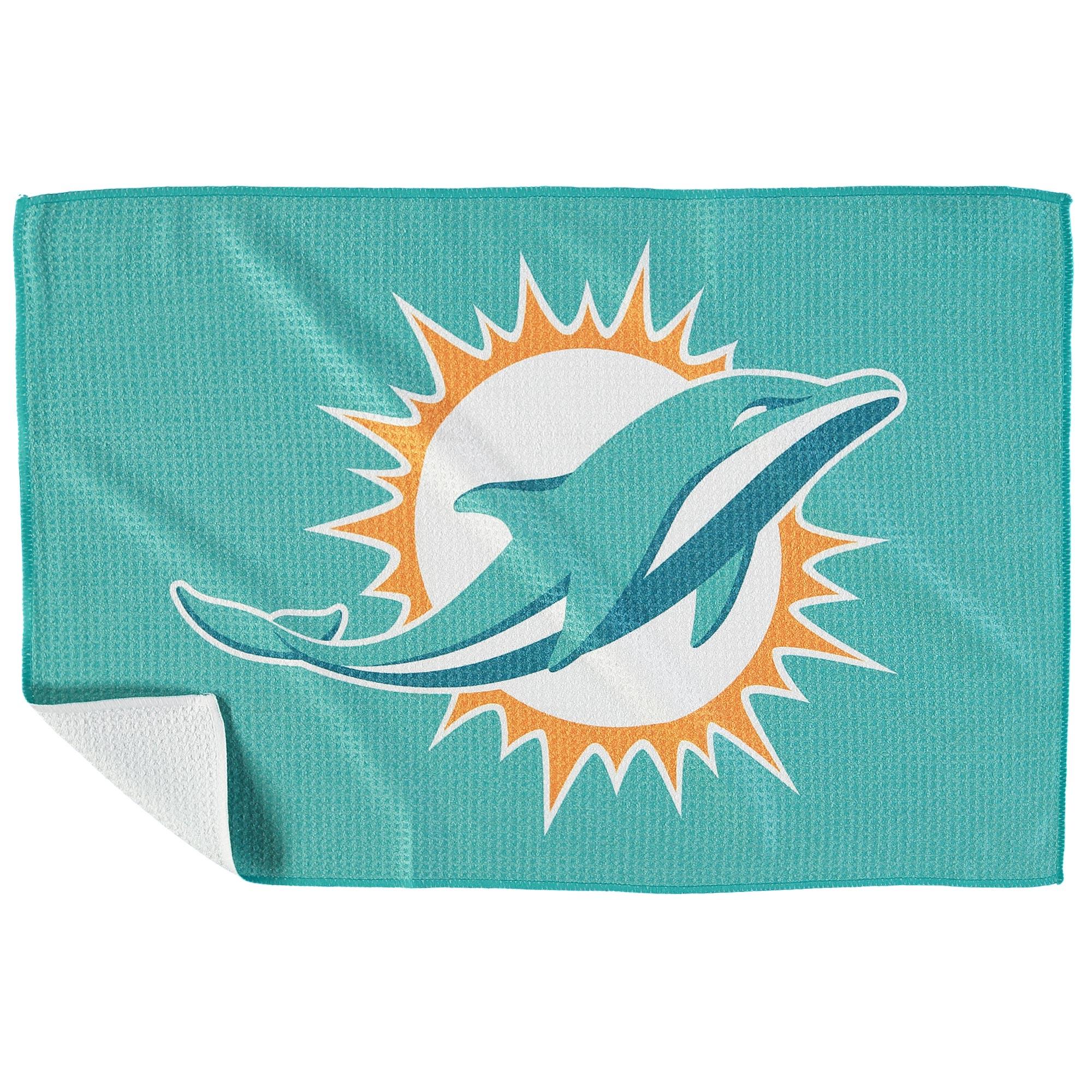 "Miami Dolphins 16"" x 24"" Microfiber Towel - No Size"
