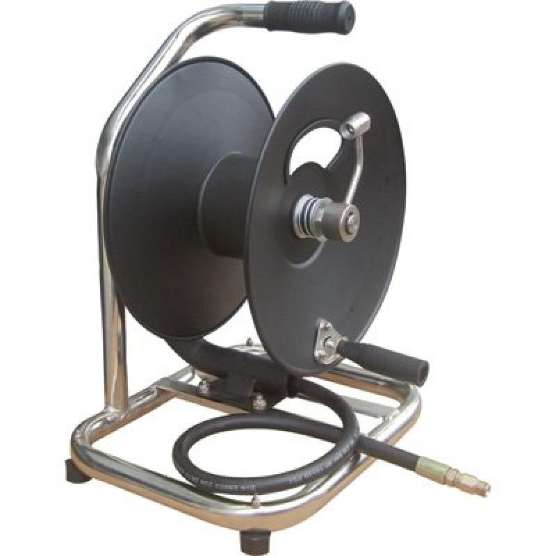 General Pump Hand-Carry High-Pressure Hose Reel 5000 PSI, 100ft. x 3 8in. Capacity, Model# 2100357 by
