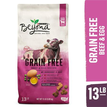 Purina Beyond Grain Free, Natural Dry Dog Food, Grain Free Beef & Egg Recipe - 13 lb.
