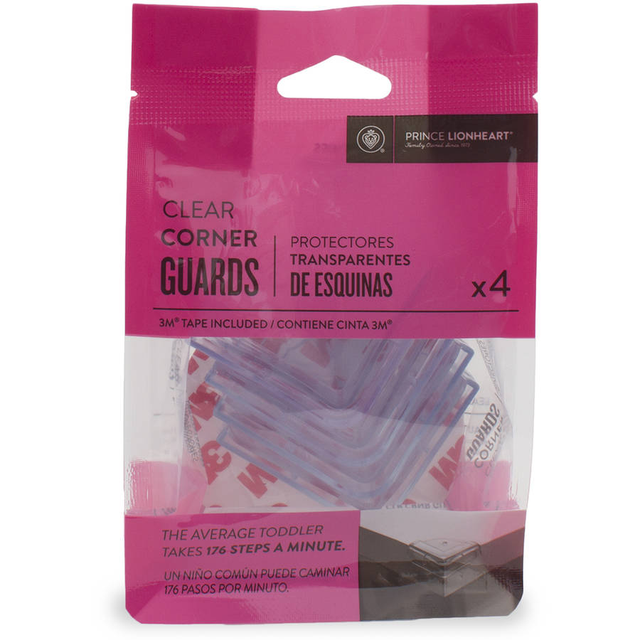 Prince Lionheart Clear cornerGUARDS, Pack of 4
