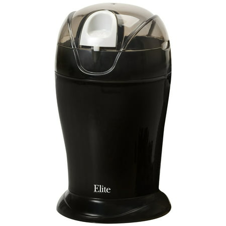 Elite Cuisine ETS-630B 150-Watt 4-Ounce Coffee Grinder, Black