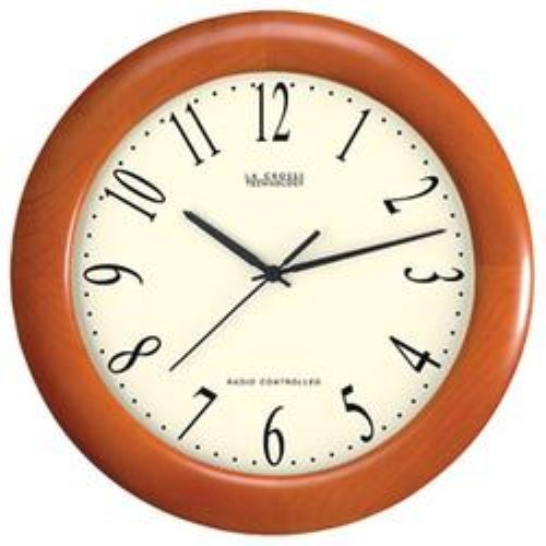 Wood Analog 12.5 Inch Wall Clock by La Crosse