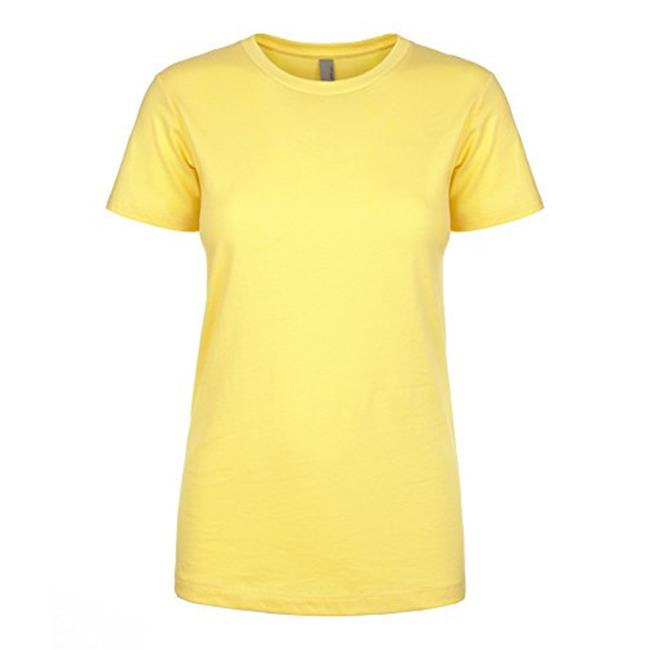 NL1510-Banana Cream-S Ladies Ideal Tee, Banana Cream - Small - image 1 of 1