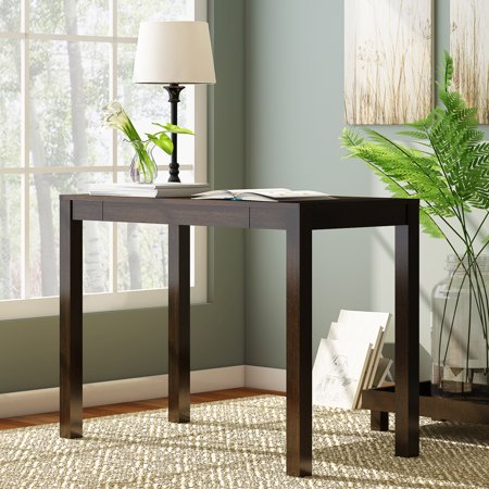 Mainstays Parsons Writing Desk With Storage Drawer Multiple Finishes