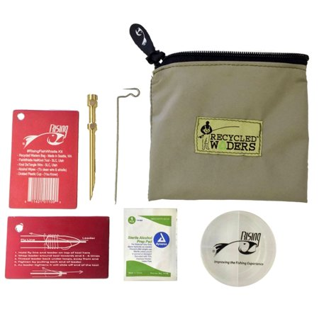 (Rising Fish Whistle Kit NailKnot Tool Fly Fishing Tying Sack Wipes Cup Wire Form)