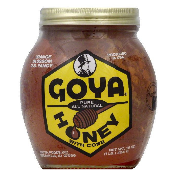 Goya Pure Honey with Comb, 16 Oz