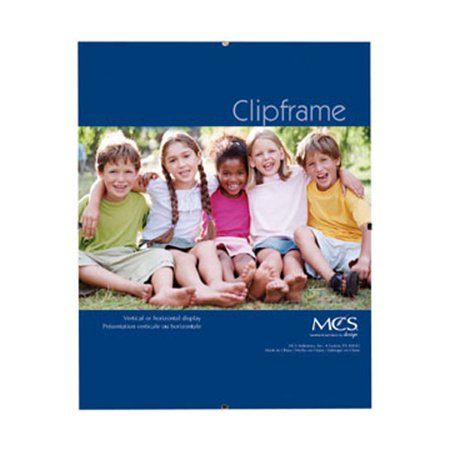 MCS Glass Clip Picture Frame for a 8.5'' x 11'' (Where To Get Cheap Glasses Frames)
