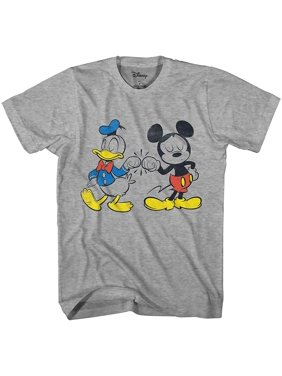 Disney Mickey Mouse Donald Duck Cool Disneyland World Tee Funny Humor Adult Mens Graphic T-Shirt Apparel