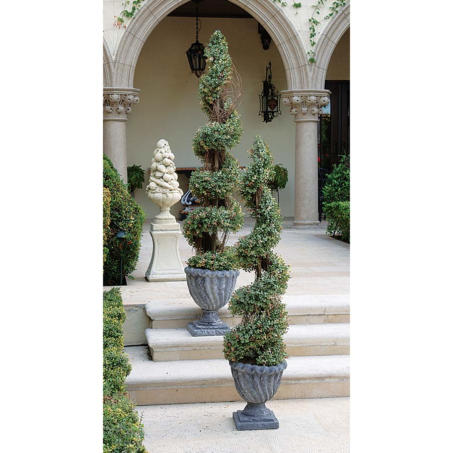 Spiral Topiary Tree Collection - Small