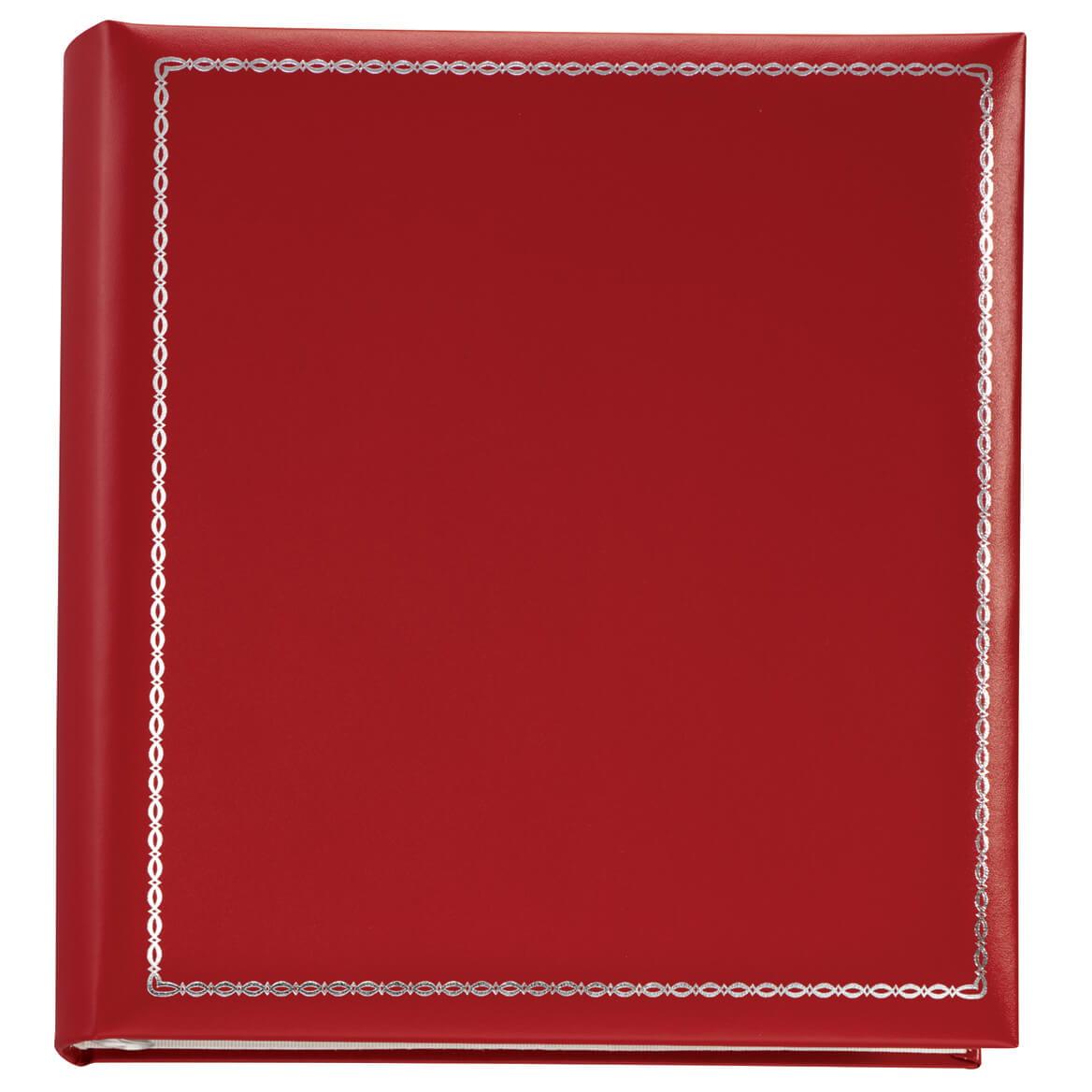 Felicity 3-ring Photo Album Gift Set, Red