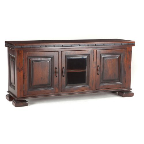 World Interiors Colinia Canales Plasma Cabinet TV Stand - 72 in. - Premium
