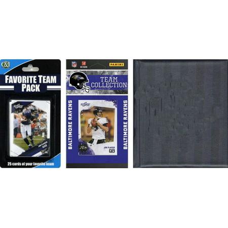 Nfl Baltimore Ravens Licensed 2010 Score Team Set And Favorite Player Trading Card Pack Plus Storage Album