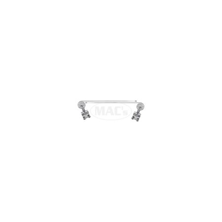 MACs Auto Parts Premier  Products 42-25221 Curb Feelers - Chrome - Adjustable