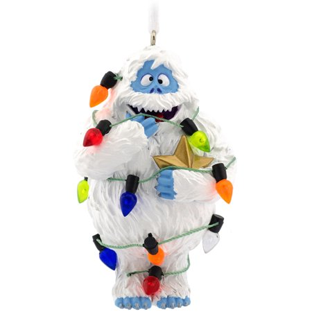 Hallmark ornament fgrn rdlph bumble for Abominable snowman christmas light decoration