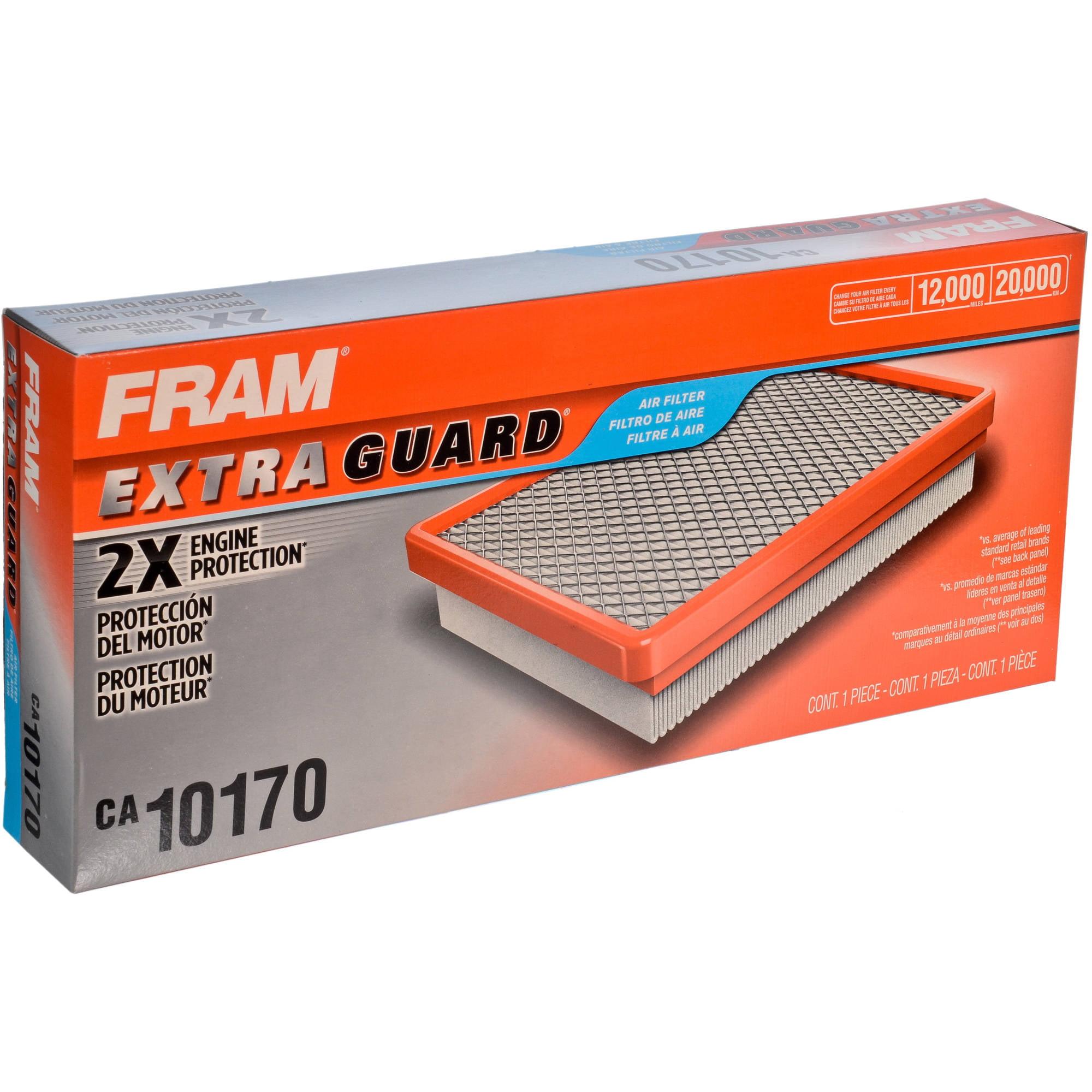 FRAM Extra Guard Air Filter, CA10170 by FRAM