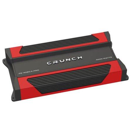 Crunch PZ40204PRO PowerZone Series Class AB 4-Channel 4000 W Amplifier - image 1 of 1