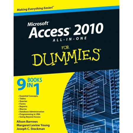 Access 2010 All-in-One For Dummies - eBook