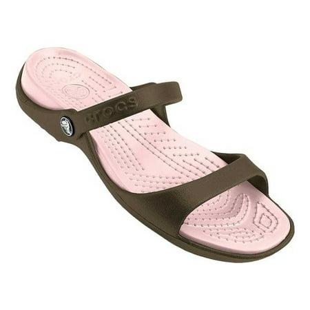 d7f1540e863 Crocs - Women s Crocs Cleo Sandal - Walmart.com