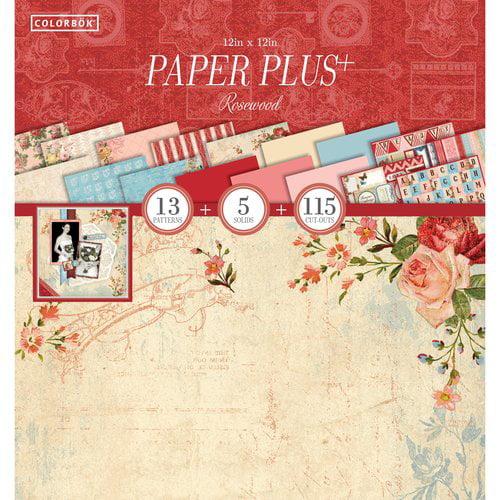 """Colorbok 12"""" Paper Plus Pad, Rosewood"""