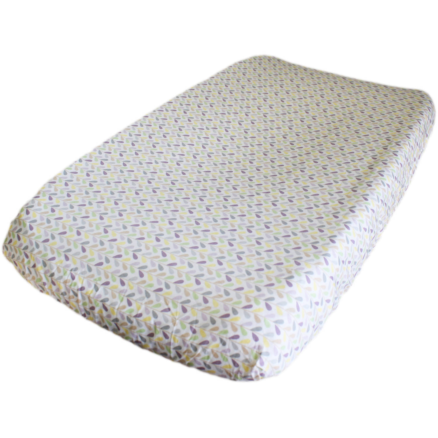 Go Mama Go Designs Love Petals Cotton Changing Pad Cover
