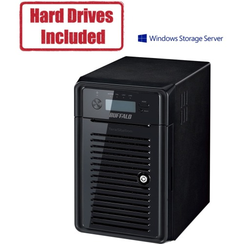 Buffalo TeraStation WSH5610DN NAS Storage System - Intel Celeron J1900 Quad-core (4 Core) 2 GHz - 6 x HDD Supported - 6 x HDD Installed - 24 TB Installed HDD Capacity - 8 GB RAM DDR3 SDRAM - Serial AT
