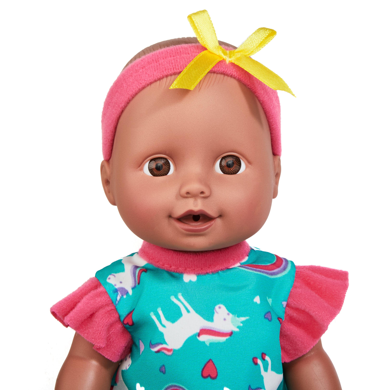 Kid Connection Mini Doll Play Set African American 11 Pieces Walmart Com Walmart Com