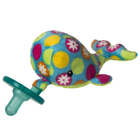 Wubbanub Soft Toy and Pacifier, Bubbly Whale, Bubbly Whale Wubbanub is a soft animal friend and infant pacifier combined into one soft,.., By Mary Meyer (Wubbanub Pacifier Toy)