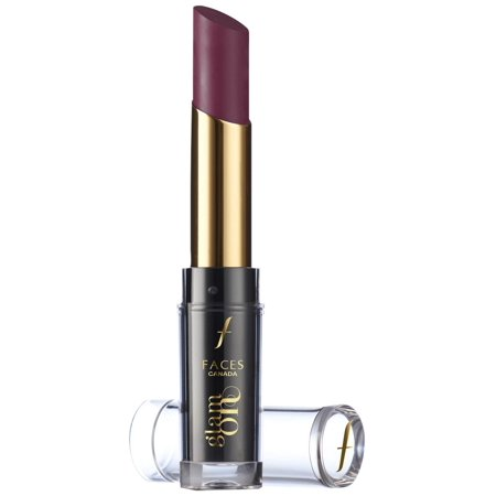 Velvet Face - Faces Glam On Velvet Matte Lipstick, Black Currant 08, 3.5g