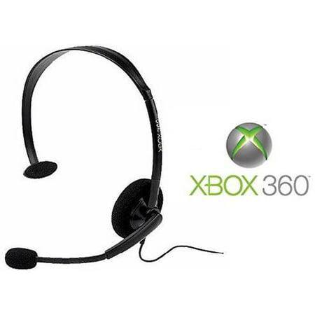 Xbox 360 - Headset - Wired - Black - Bulk Package (microsoft)