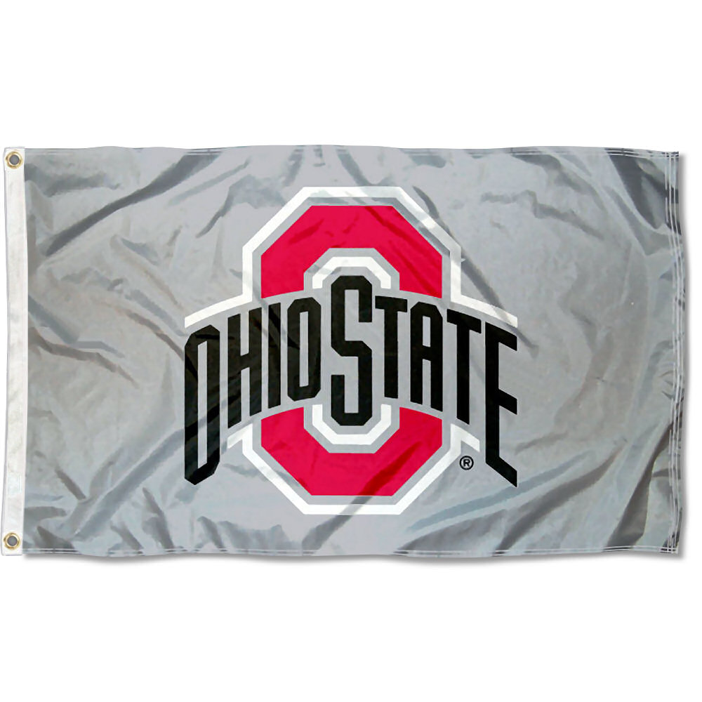 Ohio State University Buckeyes Flag