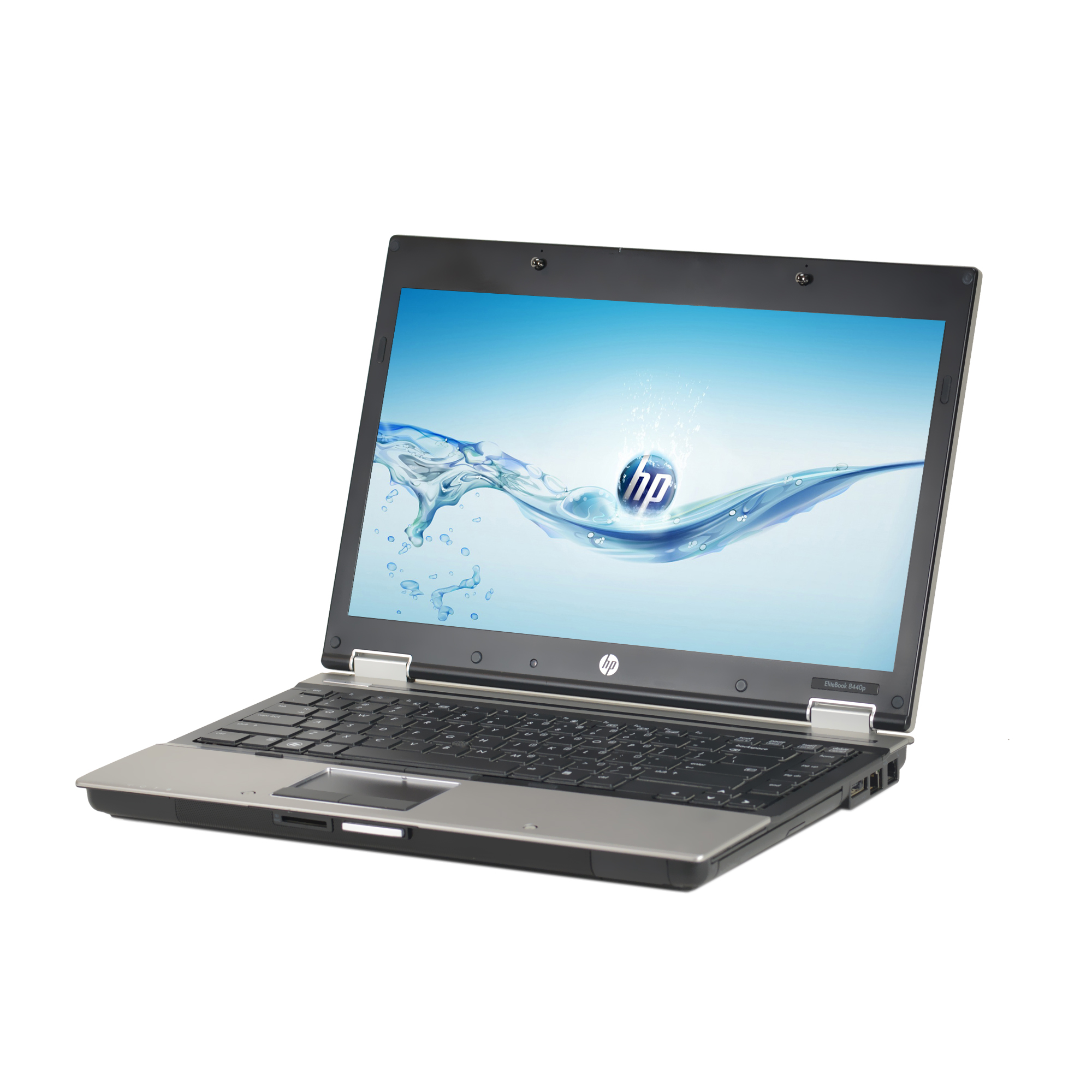 "Refurbished HP Silver 14"" 8440P Laptop PC with Intel Core i5 Processor, 4GB Memory, 320GB Hard Drive and Windows 10 Pro"