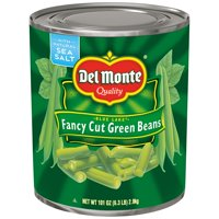 Del Monte: Blue Lake Fancy Cut Green Beans, 6.3 Pound