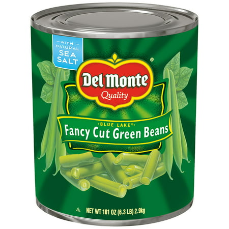 - Del Monte: Blue Lake Fancy Cut Green Beans, 6.3 Pound