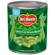 Del Monte: Blue Lake Fancy Cut Green Beans, 6.3 Pound