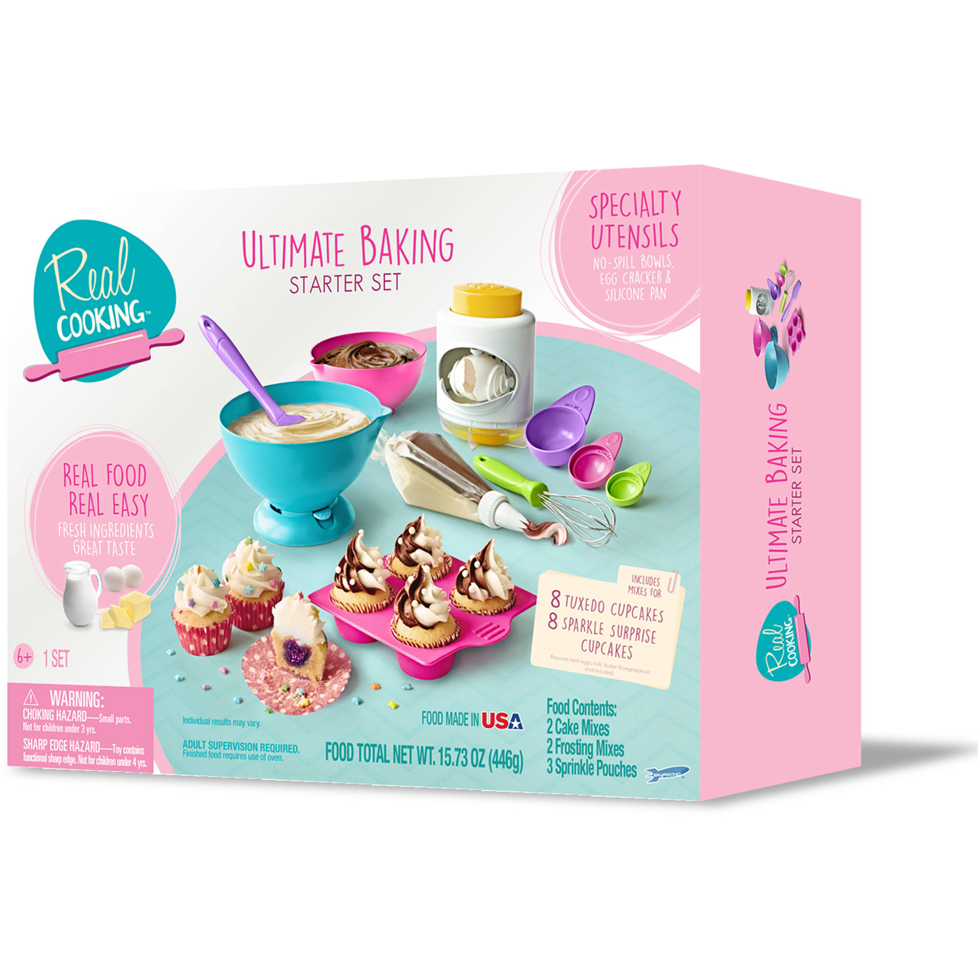 real cooking ultimate baking starter set walmartcom