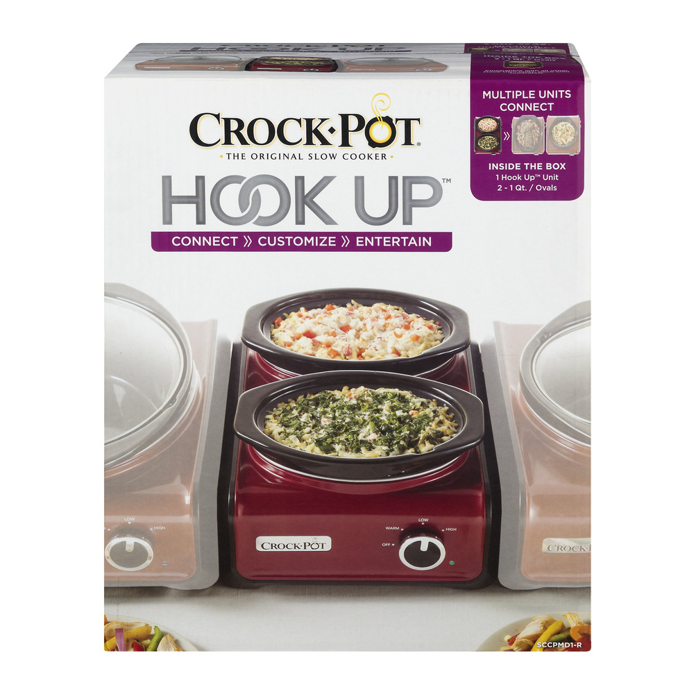 Crock-Pot Hook Up - 2/1 Quart Ovals, 3.0 PIECE(S)