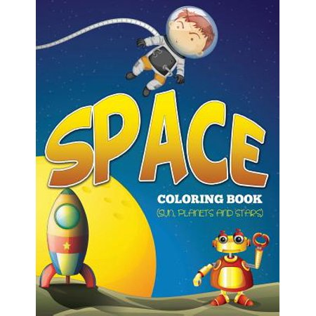 Space Coloring Book (Sun, Planets and Stars)