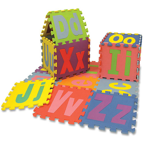 Chenille Kraft WonderFoam Alphabet Puzzle Mat