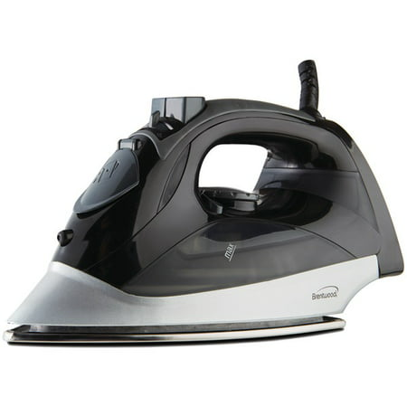 Brentwood MPI-90 Steam Iron with Auto Shutoff, Black ()