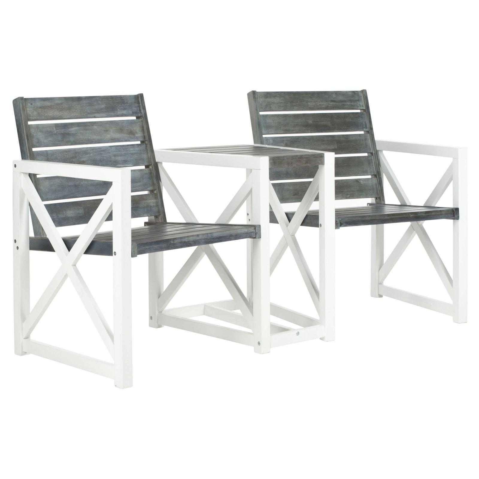 Safavieh Jovanna Indoor/Outdoor Contemporary 2 Seat Bench