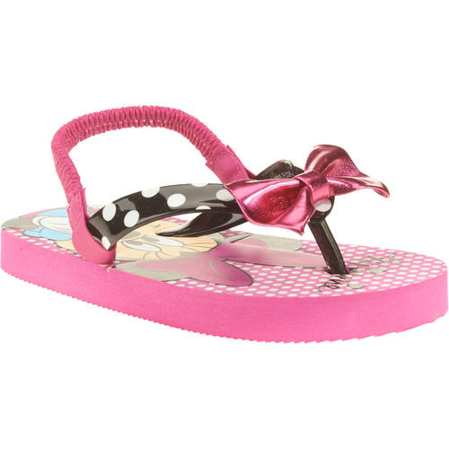 Minnie Mouse Girls' Toddler Beach Flip Flop