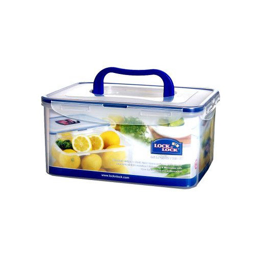 Lock & Lock 15.25 Cup Rectangular Container with Handle