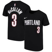 ac6a35192 Product Image C.J. McCollum Portland Trail Blazers Nike Youth Name   Number  Performance T-Shirt - Black