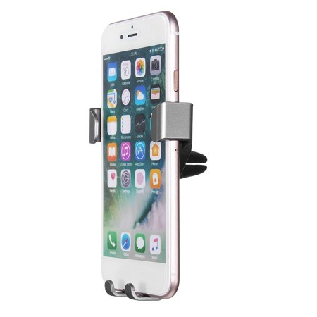 Universal Auto-Clamping Gravity Car Air Vent Holder Phone Mount Cradle for iPhone XS Max/XS/XR/X, 8 Plus/8, 6S 7 Plus/7 for Samsung Galaxy Note 8 S10/S9/S8/S8 Plus S7 Edge - image 5 de 8