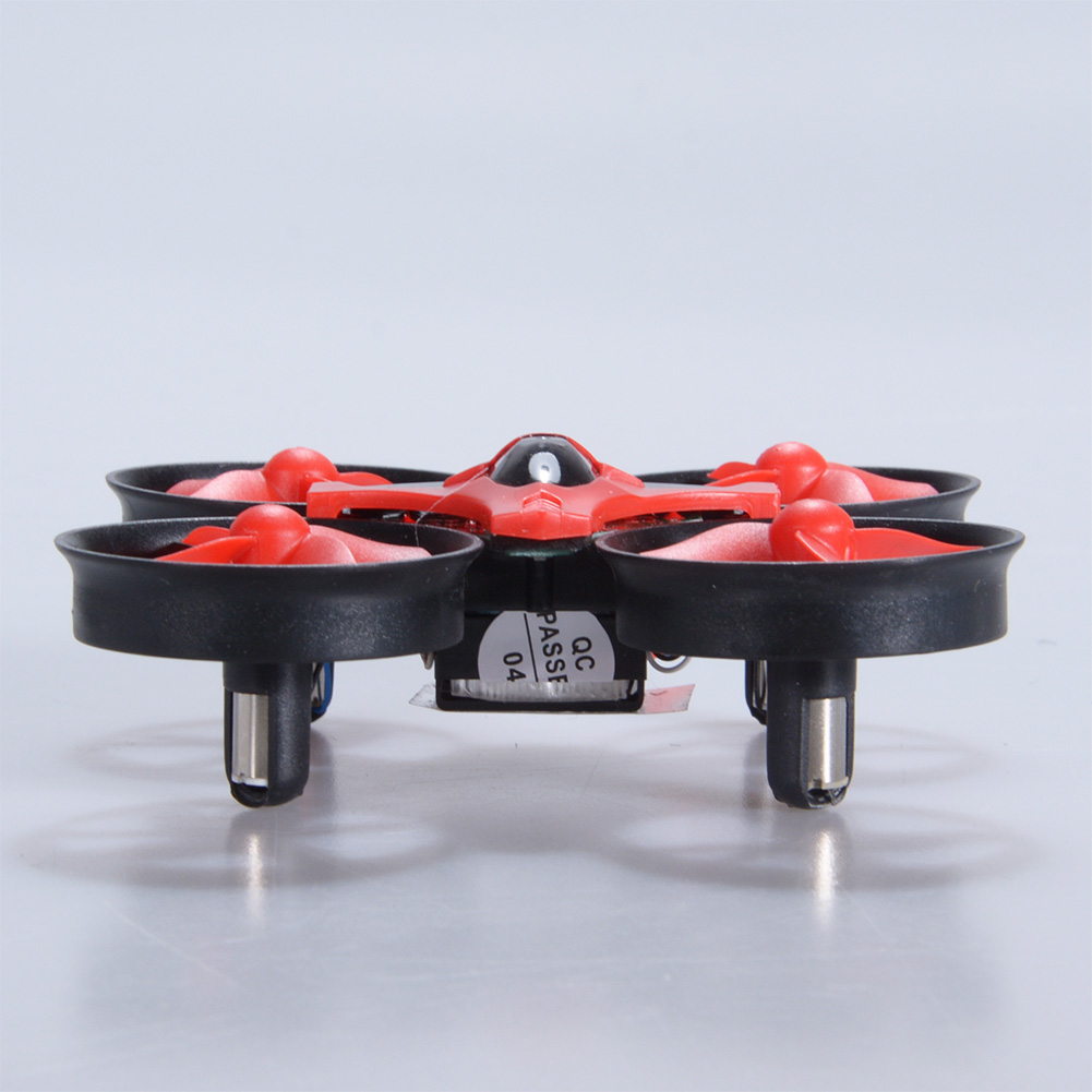NIHUI NH010 Mini Drone 2.4G 6-Axis Gyro Headless Mode Remote Control Quadcopter (Red) - image 3 of 7