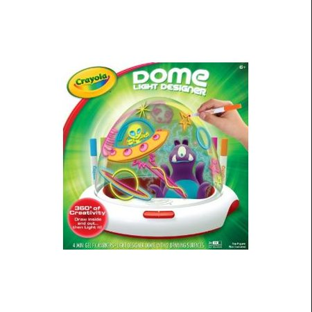 Crayola dome light designer Crayola fashion design studio reviews