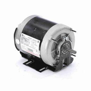 1/6 hp 1140 RPM 56Z Frame 115V Belt Drive TEAO Blower Motor Century # ARB2016M Belt Drive Blower Motor