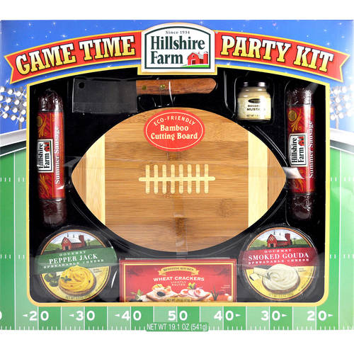 Hillshire Farm Game Time Summer Sausage Party Kit, 1.18 lb