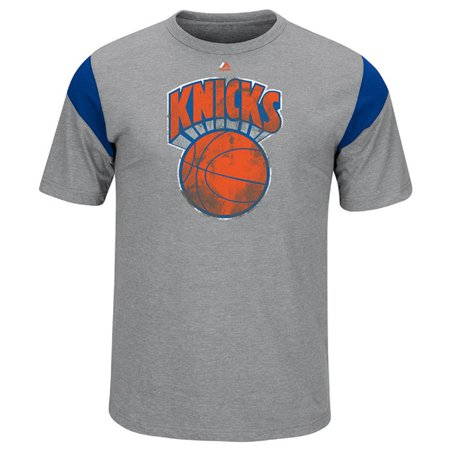 Hardwood Classics Vintage Tee - New York Knicks Gray Killer Instinct Hardwood Classics T-Shirt (M)